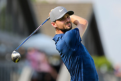 August 5, 2018 - Akron, Ohio, United States - Kyle Stanley tees off the 17th hole during the final round of the WGC-Bridgestone Invitational at Firestone Country Club. (Credit Image: © Debby Wong via ZUMA Wire)