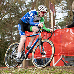 21-12-2019: Cycling : Waaslandcross Sint Niklaas: Twan van der Drift finished second after leading the race for most of the time