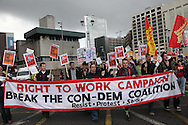 March for the Alternative at Lib Dem Conference