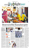 April 13, 2021 - ASIA-PACIFIC: Front-page: Today's Newspapers In Asia-Pacific