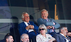 Former Australian Prime Minister Bob Hawke during day two of the Ashes Test match at Sydney Cricket Ground.