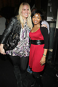 l to r: Julie Jakoubek and Robin Kearse at The Vibe Magazine Presents Vsessions Live! Hosted by the Fabulous Toccara featuring Hal Linton, Suai and Ron Browz held at Joe's Pub on February 25, 2009 in NYC