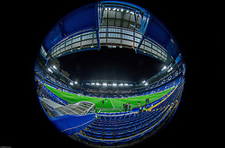 Stadium during practice session of NK Maribor 1 day before UEFA Champions League 2014/15 Match between FC Chelsea and NK Maribor, SLO, on October 20, 2014 in Stamford Bridge Stadium, London, Great Britain. Photo by Vid Ponikvar / Sportida.com