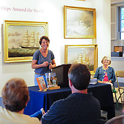 Linda Greenlaw at Discover Portsmouth Center