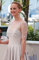 Jess Weixler at the photo call for the film The Disappearance Of Eleanor Rigby at the 67th Cannes Film Festival, Sunday 18th May 2014, Cannes, France.