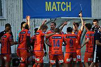 Fotball , Eliteserien<br /> 12.07.2021 , 20210712<br /> Grorud - Aalesund<br /> Aalesund jubler etter kampen<br /> Foto: Sjur Stølen / Digitalsport