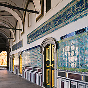 Harem decorations of the Topkapi Palace