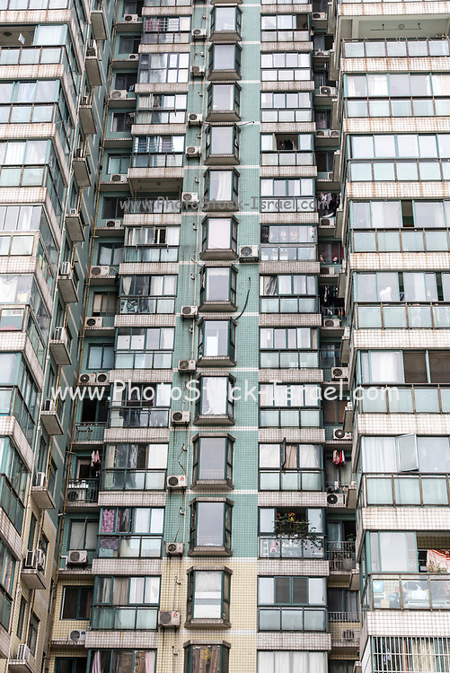 Modern apartments building in Chengdu, Sichuan, China