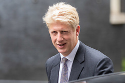© Licensed to London News Pictures. 04/09/2018. London, UK. Transport Minister Jo Johnson leaves Downing Street after attending a Cabinet meeting this morning. Photo credit : Tom Nicholson/LNP