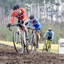 31-01-2016: Wielrennen: WK cyclecross elite: Heusden ZolderHEUSDEN-ZOLDER (BEL) cyclocrossOp het circuit van Terlamen-Zolder streden de elite veldrijders om de mondiale titels in het veld. <br /> WK Zolder Elite: David van der Poel