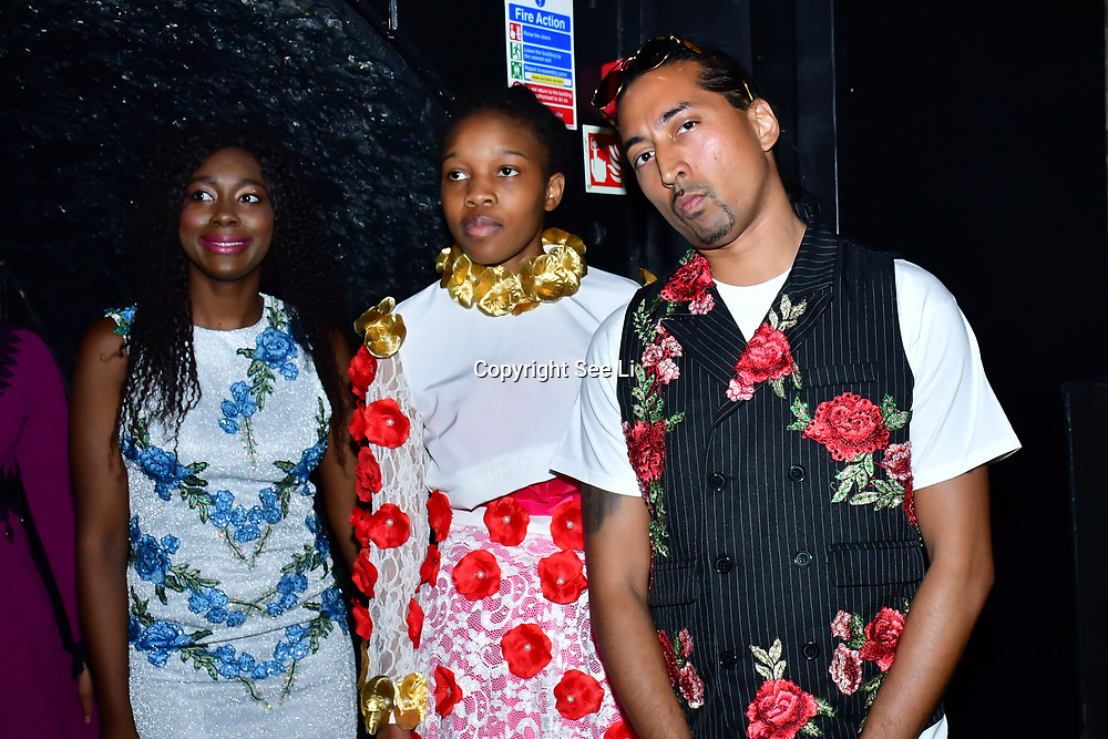 """Designer Aleah Leigh  showcases at The Third Annual Integrity Awards by Dragon Lady Productions and The Peace Project 21st """"The Alternative Fashion Integrity Awards 2019 & Film Networking Soirée"""" on 21 September 2019, Fire Club Vauxhall, London, UK."""