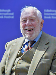 Pictured: Former Labour deputy leader Roy Hattersley at the Edinburgh International Book Festival  2019.<br /> <br /> The Labour Party was founded to give a political voice to the working classes and to end inequalities. But the challenge has changed; the gap between rich and poor has widened, and many conceive of Britain as two nations. Can the old remedies – trade union power and nationalisation – still work? Roy Hattersley spoke to guests to  speculates on the changes in the party's philosophy that could maintain its relevance in the modern world.<br /> <br /> © Dave Johnston / EEm