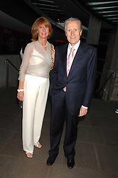 The Italian ambassador GIANCARLO ARAGONA and his wife SANDRA ARAGONA at a party to celebrate the launch of the new Fiat Bravo held at The Roundhouse Theatre, Chalk Farm Road, London on 13th June 2007.<br /><br />NON EXCLUSIVE - WORLD RIGHTS