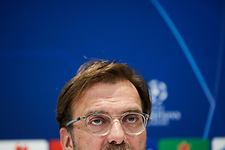LIVERPOOL, ENGLAND - Monday, February 18, 2019: Liverpool's manager Jürgen Klopp during a press conference at Anfield ahead of the UEFA Champions League Round of 16 1st Leg match between Liverpool FC and FC Bayern München. (Pic by Paul Greenwood/Propaganda)