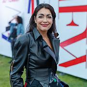 NLD/Amsterdam/20180906 - Inloop AFW 2018, David Laport, zangeres Monique Klemann
