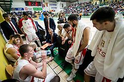 Milan Tomic, coach of CZ during basketball match between KK Krka and KK Crvena zvezda MTS in Round #14 of ABA League 2018/19, on January 4, 2018 in Arena Leona Stuklja, Novo mesto, Slovenia. Photo by Vid Ponikvar / Sportida