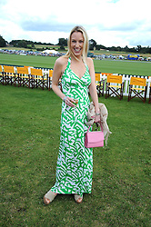 IMOGEN LLOYD WEBBER at the 2008 Veuve Clicquot Gold Cup polo final at Cowdray Park Polo Club, Midhurst, West Sussex on 20th July 2008.<br /> <br /> NON EXCLUSIVE - WORLD RIGHTS