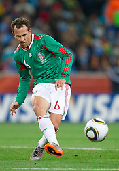Gerardo Torrado of Mexico during the 2010 FIFA World Cup South Africa Round of Sixteen match between Argentina and Mexico at Soccer City Stadium on June 27, 2010 in Johannesburg, South Africa. Argentina defeated Mexico 3-1 and qualified for quarterfinals. (Photo by Vid Ponikvar / Sportida)