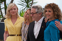 Actress Kirsten Dunst, Actress and Actress and Singer Vanessa Paradis, Director George Miller, Director Valeria Golino at the Members of the Jury photo call at the 69th Cannes Film Festival Wednesday 11th May 2016, Cannes, France. Photography: Doreen Kennedy