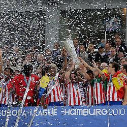 20100512: GER, UEFA Europa League Finals, Atletico Madrid vs Fulham FC