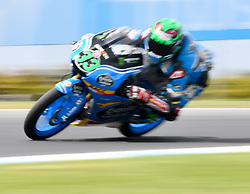 October 20, 2017 - Melbourne, Victoria, Australia - Italian rider Enea Bastianini (#33) of Estrella Galicia 0,0 in action during the second free practice session at the 2017 Australian MotoGP at Phillip Island, Australia. (Credit Image: © Theo Karanikos via ZUMA Wire)