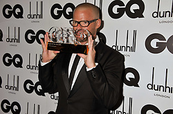 Chef of The Year HESTON BLUMENTHAL at the GQ Men of the Year 2011 Awards dinner held at The Royal Opera House, Covent Garden, London on 6th September 2011.