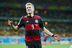 08.07.2014, Mineirao, Belo Horizonte, BRA, FIFA WM, Brasilien vs Deutschland, Halbfinale, im Bild Andre Schuerrle (GER) // during Semi Final match between Brasil and Germany of the FIFA Worldcup Brazil 2014 at the Mineirao in Belo Horizonte, Brazil on 2014/07/08. EXPA Pictures © 2014, PhotoCredit: EXPA/ Eibner-Pressefoto/ Cezaro<br /> <br /> *****ATTENTION - OUT of GER*****