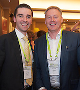 20/11/2014  repro free   Martin O' Regan VisitorFlix and David Noone HN Cost management Solutions at the Galway Bay Hotel for the two day conference Meet West attracting over 400 business people from around Ireland for the largest networking event in the Country . Photo:Andrew Downes