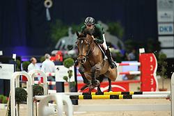 Nunez Riva Santiago, (ESP), Quarela de Toscane<br /> Klassik Radio Preis Jumping München 2015<br /> © Hippo Foto - Stefan Lafrentz