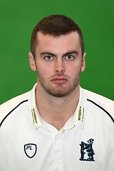 Dominic Sibley during the media day at Edgbaston, Birmingham. PRESS ASSOCIATION Photo. Picture date: Thursday April 5, 2018. See PA story CRICKET Warwickshire