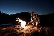 """Diamantina _ MG, 06 de agosto de 2007<br /> <br /> Fotografias feitas no Vale do Jequitinhonha para a Revista Globo Rural cujo tema ? Garimpo.<br /> <br /> Na foto: """"Seu"""" Ida (Idario Fontes) morador e garimpeiro na comunidade Guinda em Diamantina. <br /> <br /> FOTO: JOAO MARCOS ROSA / AGENCIA NITRO"""