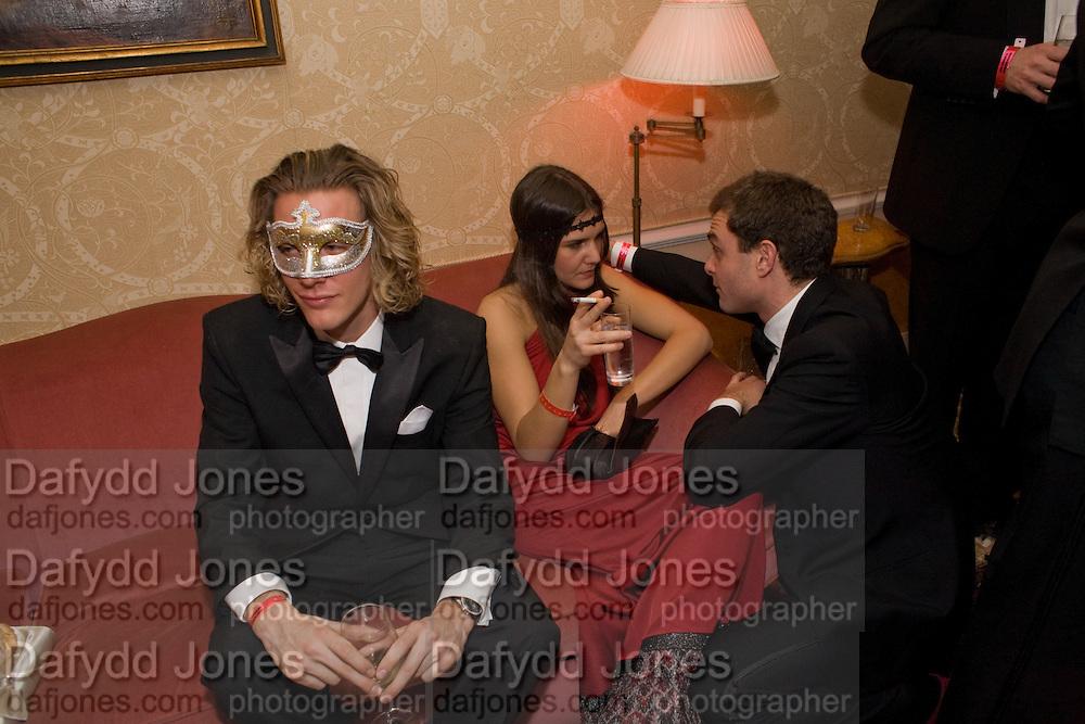 RUDI MOEN; MARGHERITA MISSONI, Francesca Bortolotto Possati, Alessandro and Olimpia host Carnevale 2009. Venetian Red Passion. Palazzo Mocenigo. Venice. February 14 2009.  *** Local Caption *** -DO NOT ARCHIVE -Copyright Photograph by Dafydd Jones. 248 Clapham Rd. London SW9 0PZ. Tel 0207 820 0771. www.dafjones.com<br /> RUDI MOEN; MARGHERITA MISSONI, Francesca Bortolotto Possati, Alessandro and Olimpia host Carnevale 2009. Venetian Red Passion. Palazzo Mocenigo. Venice. February 14 2009.