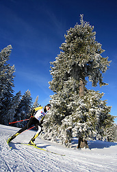 German cross-country skier Max Wohlleben at 10th OPA - Continental Cup 2008-2009, on January 17, 2009, in Rogla, Slovenia.  (Photo by Vid Ponikvar / Sportida)