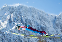 21.03.2013, Planica, Kranjska Gora, SLO, FIS Ski Sprung Weltcup, Skifliegen, Training, im Bild Alexey Buyvolov (RUS) // Alexey Buyvolov of Russia in action during practice of the FIS Skijumping Worldcup Individual Flying Hill, Planica, Kranjska Gora, Slovenia on 2013/03/21. EXPA Pictures © 2012, PhotoCredit: EXPA/ Johann Groder
