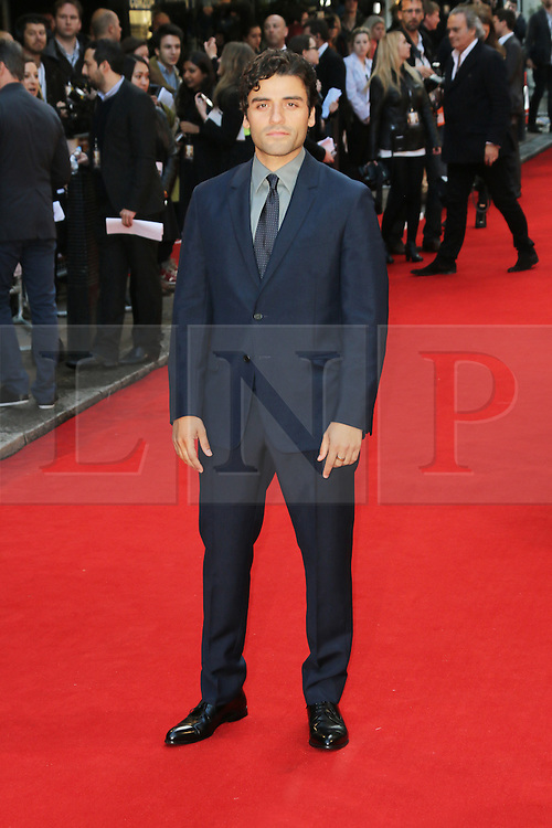 © Licensed to London News Pictures. 13/05/2014, UK. Oscar Isaac, Two Faces Of January - UK Film Premiere, Curzon Mayfair, London UK, 13 May 2014,. Photo credit : Richard Goldschmidt/Piqtured/LNP