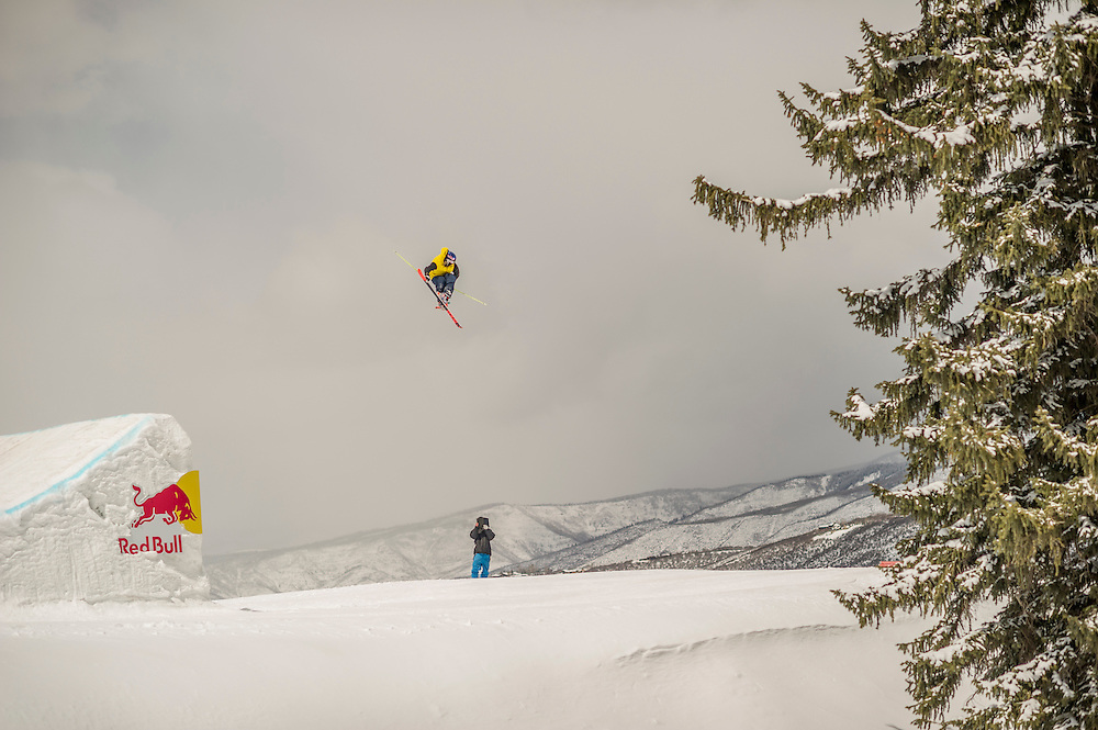 Russ Henschaw performs at the RedBull Performance Camp in Aspen Colorado, United States on April 14th, 2013