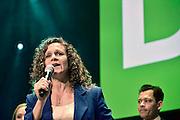 Nederland, Nijmegen, 22-5-2014D66 verkiezingsavond voor europees parlement. Sophie in het Veld.Foto: Flip Franssen/ Hollandse Hoogte