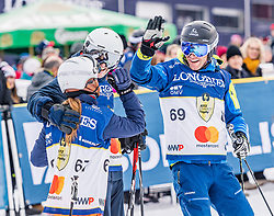 25.01.2020, Streif, Kitzbühel, AUT, FIS Weltcup Ski Alpin, im Rahmen der KitzCharityTrophy 2020 am Samstag, 25. Jänner 2020, auf der Streif in Kitzbühel. // f.l. Marijana Vasilescu Markus Gremmel Benjamin Raich during the KitzCharityTrophy 2020 at the Streif in Kitzbühel, Austria on 2020/01/25, im Bild v.l. Marijana Vasilescu, Markus Gremmel, Benjamin Raich // f.l. Marijana Vasilescu Markus Gremmel Benjamin Raich during the KitzCharityTrophy 2020 at the Streif in Kitzbühel, Austria on 2020/01/25. EXPA Pictures © 2020, PhotoCredit: EXPA/ Stefan Adelsberger