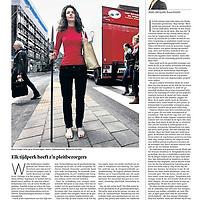 Trouw 4 juni 2013: hedendaagse cavewomen Marianne van Dijk