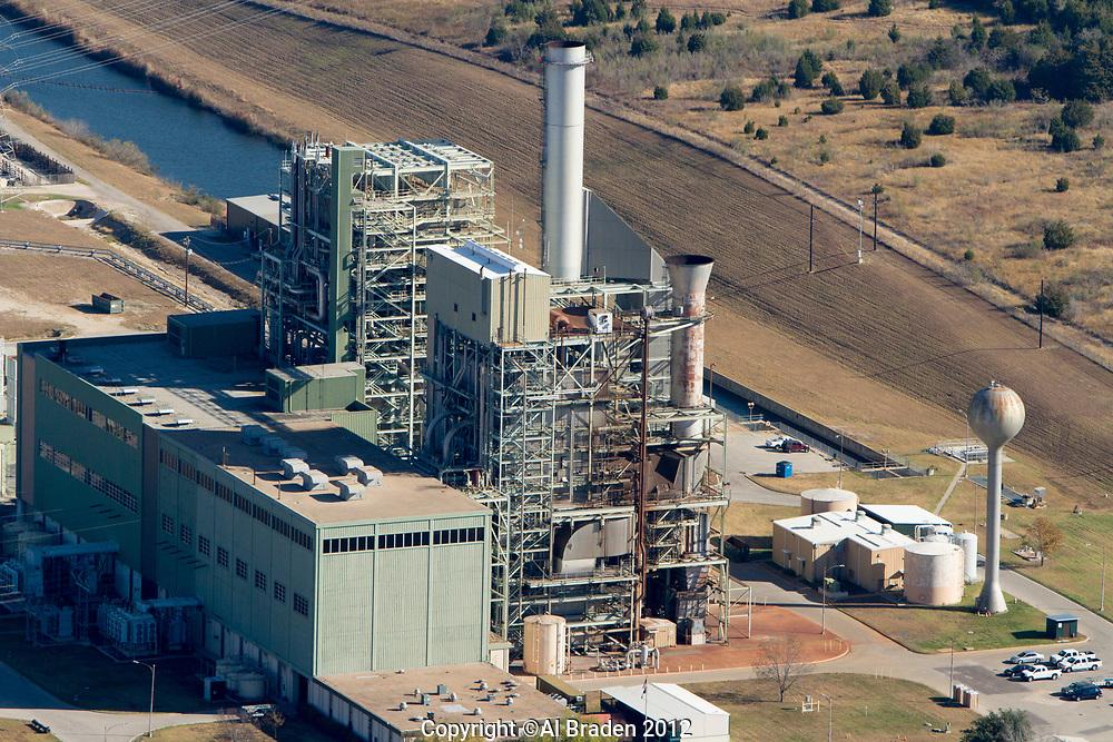Decker Creek Power Station, 926 MW natural gas power plant, Austin, TX
