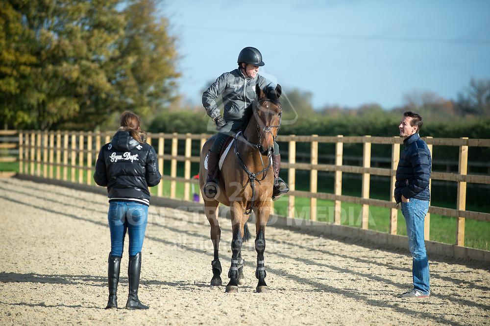 - Michael Whitaker at home - Whatton Fields Farm, Whatton, Nottinghamshire, United Kingdom - 12 November 2013