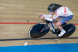 March 2, 2019 - Pruszkow, Poland - Eleanor Dickinson (GBR) competes on day four of the UCI Track Cycling World Championships held in the BGZ BNP Paribas Velodrome Arena on March 02 2019 in Pruszkow, Poland. (Credit Image: © Foto Olimpik/NurPhoto via ZUMA Press)