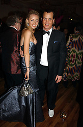 MATTHEW MELLON and NOELLE RENO at Andy & Patti Wong's annual Chinese New year Party, this year to celebrate the Year of The Pig, held at Madame Tussauds, Marylebone Road, London on 27th January 2007.<br /><br />NON EXCLUSIVE - WORLD RIGHTS