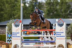 Billington James, GBR, Incanto VDL<br /> Nationaal Kampioenschap KWPN<br /> 7 jarigen springen final<br /> Stal Tops - Valkenswaard 2020<br /> © Hippo Foto - Dirk Caremans<br /> 19/08/2020