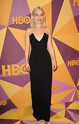 Emilia Clarke at the HBO's 2018 Official Golden Globe Awards After Party held at the Circa 55 Restaurant in Beverly Hills, USA on January 7, 2018. (Photo by Lumeimages/Sipa USA)