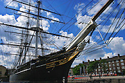 The Cutty Sark was, in 1869, one of the last sailing clippers to be built, and she is the only classic clipper still surviving. She is now preserved in dry dock at Greenwich London, England.