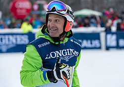 20.01.2018, Hahnenkamm, Kitzbühel, AUT, FIS Weltcup Ski Alpin, Kitzbuehel, Kitz Charity Trophy, im Bild Hans Knauss // Hans Knauss during the Kitz Charity Trophy of the FIS Ski Alpine World Cup at the Hahnenkamm in Kitzbühel, Austria on 2018/01/20. EXPA Pictures © 2018, PhotoCredit: EXPA/ Stefan Adelsberger