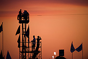 March 16-18, 2017: Mobil 1 12 Hours of Sebring. Fans watch the 12 hours of Sebring.