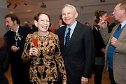 MR. AND MRS. LOUIS TANNER Bonhams Auction house hosts festive drinks to preview the first phase of the reconstruction of its Mayfair Headquarters - due for completion in 2013.<br /> Bonhams, 101 New Bond Street, London, 19 December 2011.