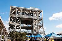 US, Florida. John F. Kennedy Space Center. Observation Gantry.